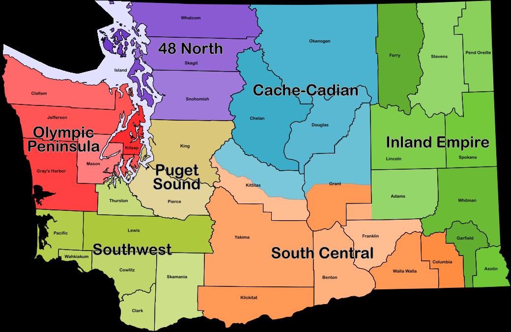 Chapters – Washington State Geocaching Association